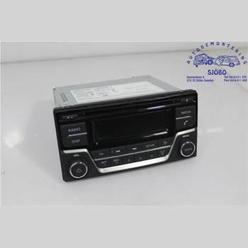 Radio CD/Multimediapanel NISSAN JUKE 14-19 1.5 JUKE 2015 28185BV80A