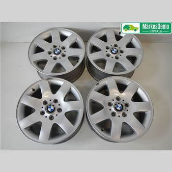 FÄLGSATS ALUMINIUM BMW 3 E46      98-05 BMW 318 TI COMPACT E46 98-05 2002 36111094498