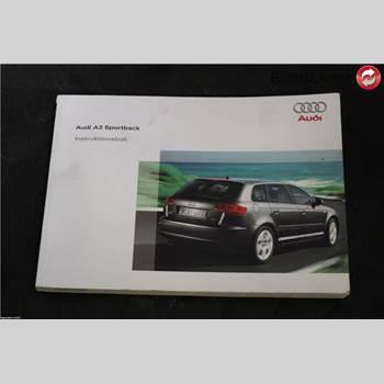 Instruktionsbok AUDI A3/S4 05-13 Audi A3-s3 05-13 2007 2725618PA37