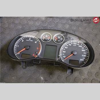 INSTRUMENT KOMB. AUDI A3/S4 05-13 Audi A3-s3 05-13 2007 8P0 920 931 EX