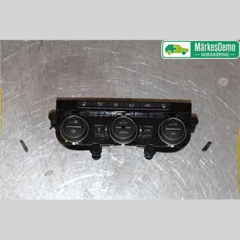 Värmereglage VW PASSAT 15-19 Vw Passat  15- 2018 5G0907044EE