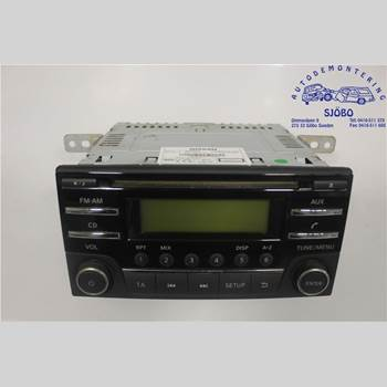 CD Radio NISSAN NOTE E11 06-14 01 NOTE 2014