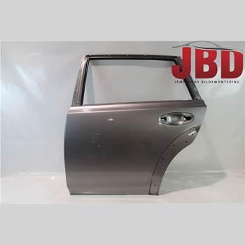 Dörr Vänster Bak SUBARU OUTBACK 10-15 Subaru Outback 10-14 2011 60409AJ1109P