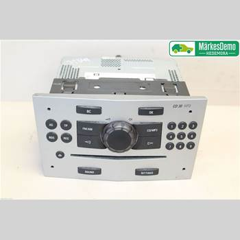 RADIO CD/MULTIMEDIAPANEL OPEL CORSA D 07-14 OPEL CORSA 2011 13357124