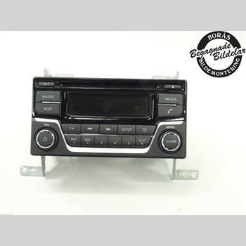 Radio CD/Multimediapanel NISSAN JUKE 14-19 Nissan Juke  14- 2016 28185BV80A