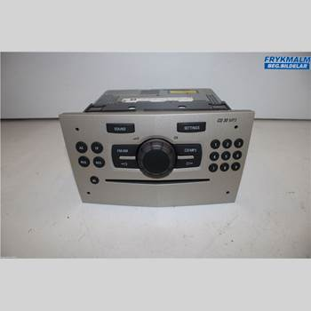 RADIO CD/MULTIMEDIAPANEL OPEL CORSA D 07-14 Opel Corsa D 07-14 2007 13257028