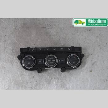 Värmereglage VW PASSAT 15-19 Vw Passat  15- 2016 5GE907044DAK