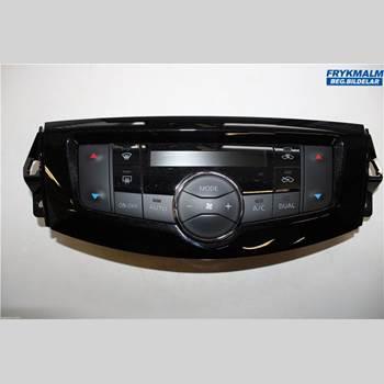 AC Styrenhet AC Manöverenhet NISSAN NAVARA, TREK-1 17- Nissan Navara Trek 1 17- 2019 275004KD1A