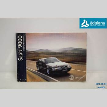 Instruktionsbok SAAB 9000 CS    92-98  1998 412452