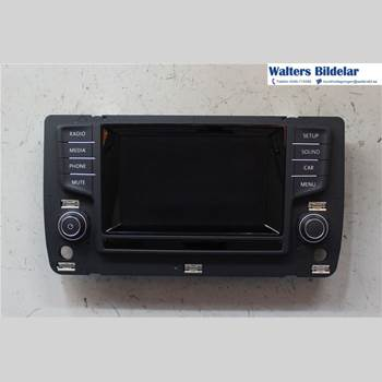 RADIO CD/MULTIMEDIAPANEL VW GOLF / E-GOLF VII 13- Golf Vii 13- 2013 5G0919605