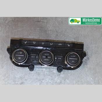 Värmereglage VW PASSAT 15-19 Vw Passat  15- 2016 5GE907044AK