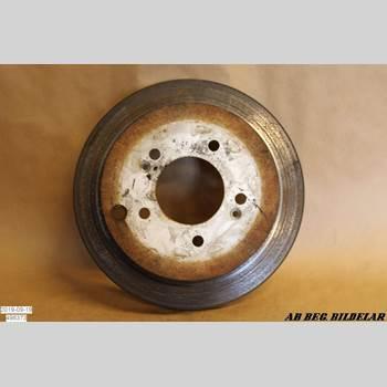 Bromsskiva Bak HYUNDAI SANTA FE  00-06 HYUNDAI SANTA FE V6 GLS 2002