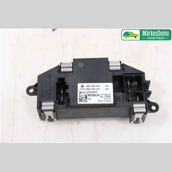 Värmefläktsmotstånd AUDI A4/S4 08-11 AUDI A4 SEDAN 4D 2009 8K0820521B