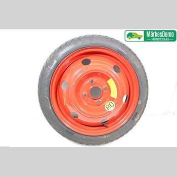 HJUL RESERVHJUL MINITYP HYUNDAI i20 09-14 Hyundai I20 09-14 2012 4/100
