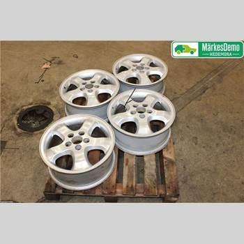 Aluminiumfälg Sats 4st SAAB 9-3 VER 1 98-03 SAAB 9-3 SE 5D 2.0TS 205 2001