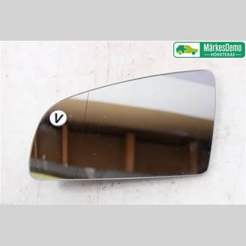 Spegelglas Vänster AUDI A4/S4 05-07 AUDI A4 2.0T SEDAN, 4D 2006 8E0857535E
