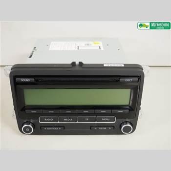 RADIO / STEREO   VW POLO 10-17 1,4 I.  VW POLO 2011 5M0057187AX