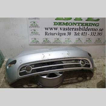 Stötfångarbeklädnad Fram VW BEETLE 98-10 VW NEW BEETLE TDI 1999 1C0807221E
