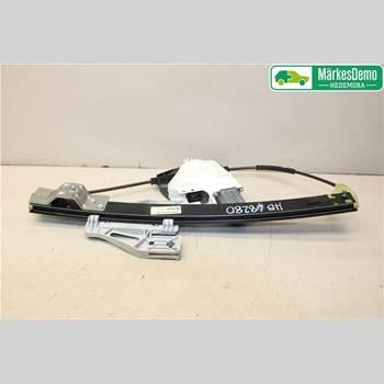Fönsterhiss Elektrisk Komplett AUDI A4 12-15 AUDI A4 D SEDAN 4D 2013 8K0 839 462 C