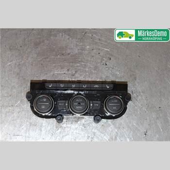 Värmereglage VW PASSAT 15-19 Vw Passat  15- 2017 5GE907044ARWZU