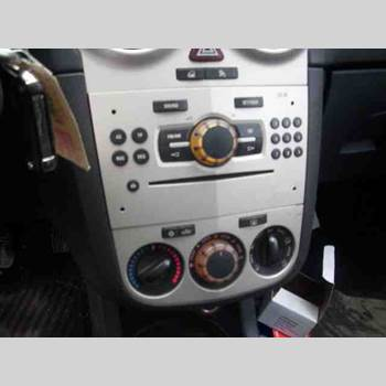RADIO CD/MULTIMEDIAPANEL OPEL CORSA D 07-14 OPEL CORSA 2007