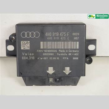 AUDI A7/S7 4G 11-17 3,0 TFSI. AUDI A7 SPORT-B QUATTRO 2010 4H0919475H
