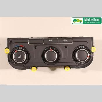 AC Styrenhet AC Manöverenhet VW TRANSP/Caravelle 16- Vw Transp-caravelle 16- 2017 7E0907047AG