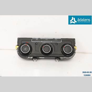 AC Styrenhet AC Manöverenhet VW TRANSP/Caravelle 16- VOLKSWAGEN, VW TRANSPORTER 2017 7E0 907 047 AF