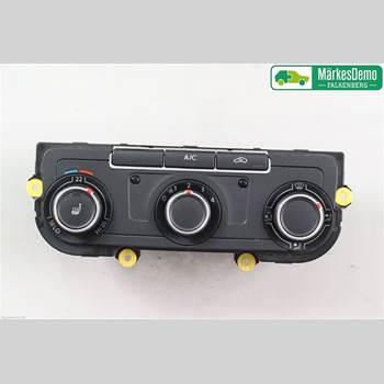 AC Styrenhet AC Manöverenhet VW TRANSP/Caravelle 16- Transp-caravelle 16- 2016 7E0907047AG