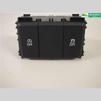 Strömställare Antisladd VW TOUAREG I 03-10 3,0 TDI. VW TOUAREG 2016 7P6927127M