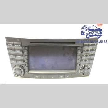 GPS NAVIGATOR MB E-KLASS (W211) 02-09 5DCBI 320 CDI AUT 2005