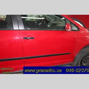 Dörr Höger Fram VW GOLF PLUS/CROSS GOLF 04-14 VW GOLF PLUS TDI 140 PF 2006