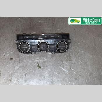 Värmereglage VW PASSAT 15-19 Vw Passat  15- 2018 5Q0907044ECWZU