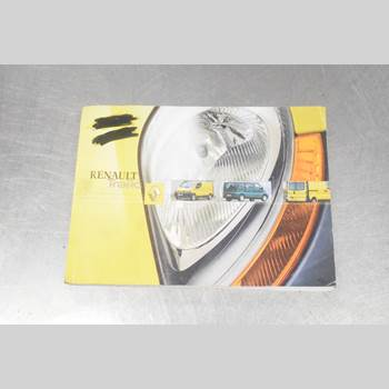Instruktionsbok RENAULT TRAFIC   02-14 1.9 DCI 2002