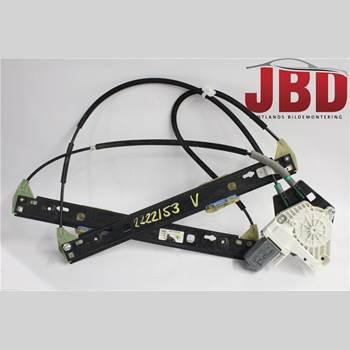 Fönsterhiss Elektrisk Komplett AUDI A1/S1 11-18 AUDI            8X AUDI A1 2011 8X3837461