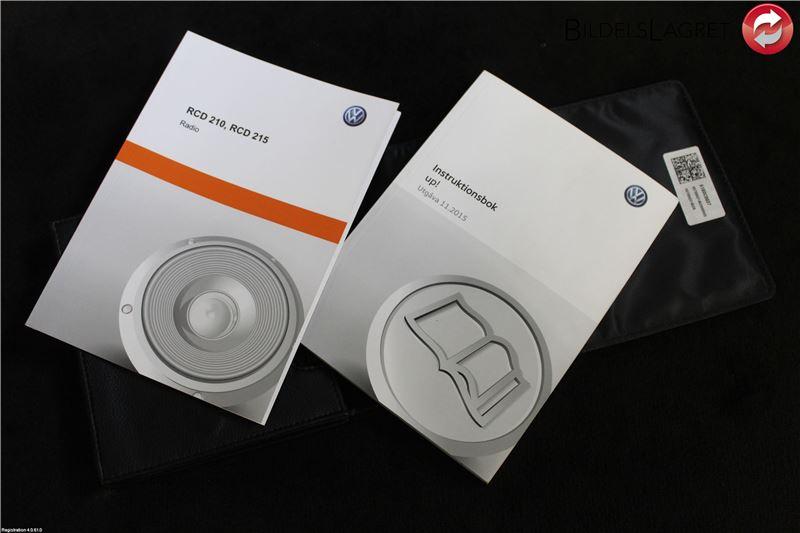 INSTRUKTIONSBOK till VW UP! / E-UP! LI bil (0)