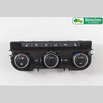 AC Styrenhet AC Manöverenhet VW BEETLE 12- Beetle 12- 2016 5C0907044AN