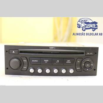RADIO CD/MULTIMEDIAPANEL CITROEN C4 I   05-10 5DC5 1.6 5VXL SER ABS 2006