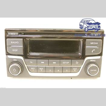 CD Radio NISSAN JUKE 14-19 NISSAN F15 NISSAN JUKE 2015 28185BV80A