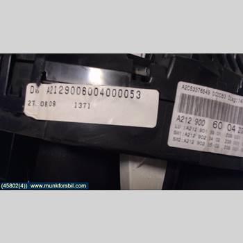Kombi. Instrument MB E-KLASS (W212) 09-16  2010 A2129006004