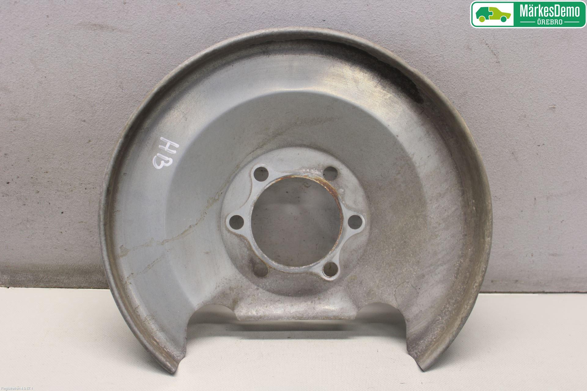 Bromssköld bak image