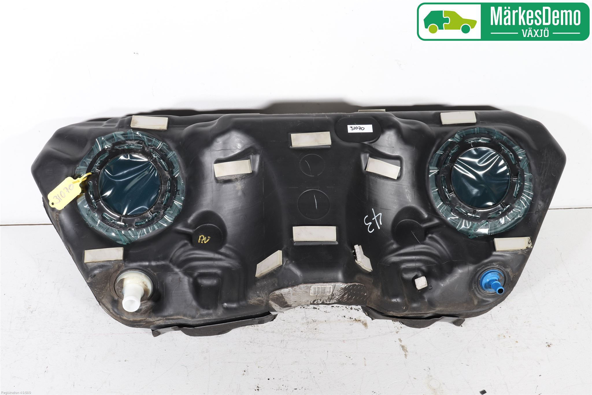 Bränsletank insprutning - 2,3 BENSIN, PLAST image