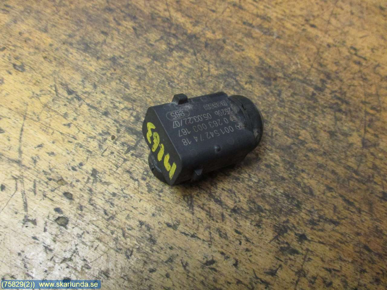 Parkeringshjälp frontsensor image